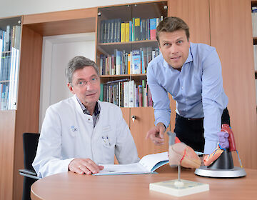 ACHD-Specialist Prof. Dr. Dr. Gerhard-Paul Diller (right side of the picture)